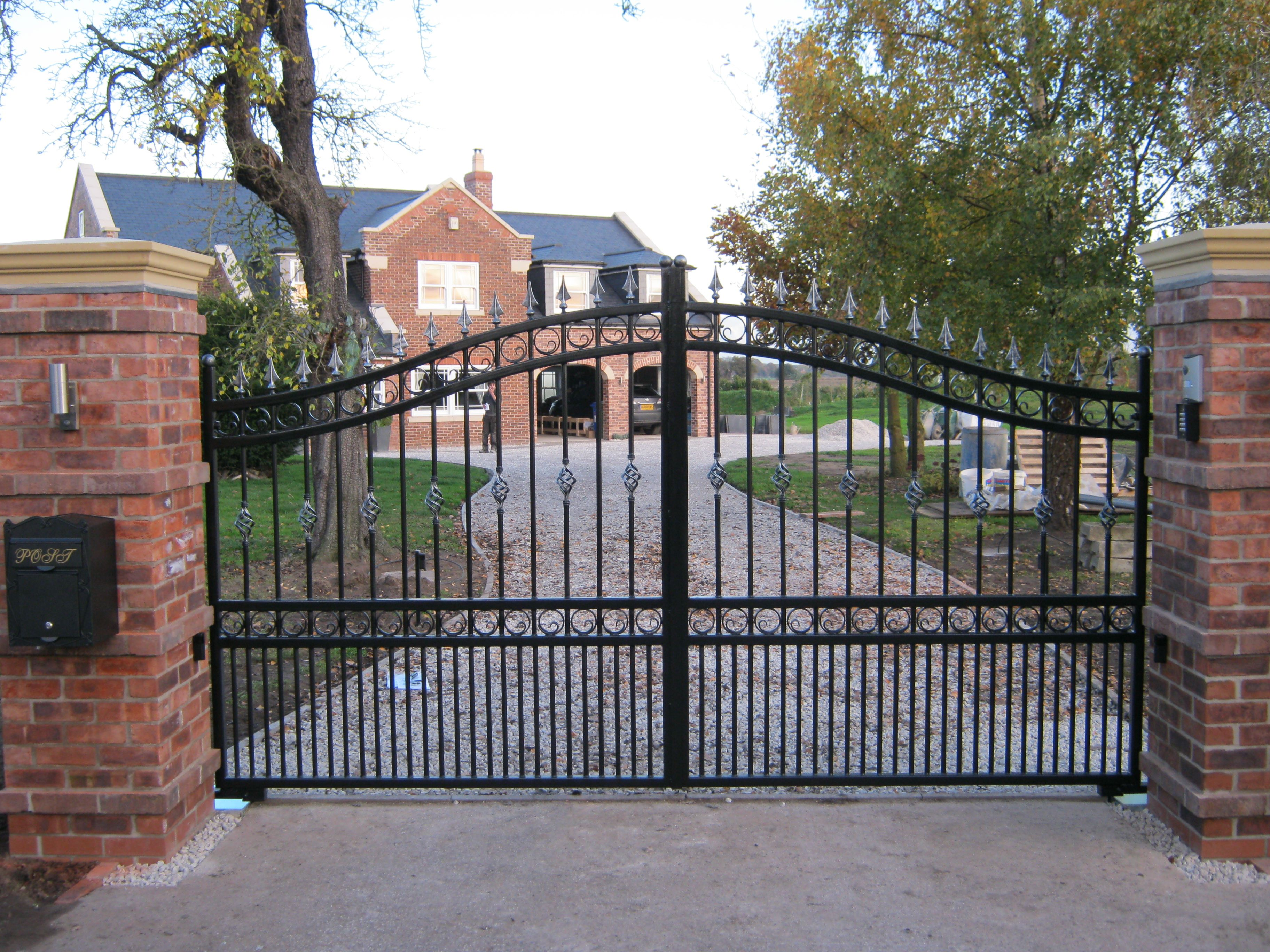 Steel Gates Electric Security Gates Hull East Yorkshire